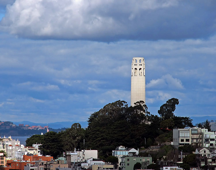Coit Tower As Seen From My Dentist's Office